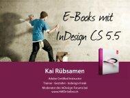 IDUG Köln 5. Mai - InDesign User Group