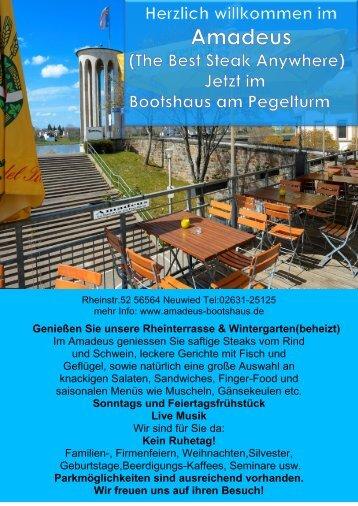 Genießen Sie unsere Rheinterrasse & Wintergarten(beheizt) Im ...