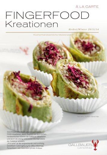 FINGERFOOD - Gallbauer Catering Salzburg