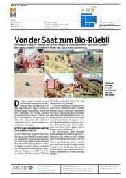 Von der Saat zum Bio-Rüebli - Bioaktuell.ch