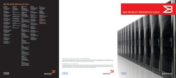 IBM PRODUCT REFERENCE GUIDE - Brocade