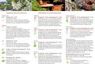 Veranstaltungskalender 2013 - Baumschulen Ammann