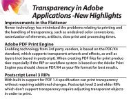Transparency in Adobe Applications - InDesign User Group
