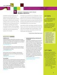 Detroit InDesign User Group October 2008 newsletter