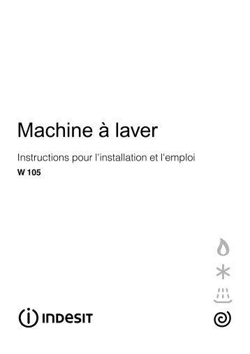 Machine à laver - Indesit