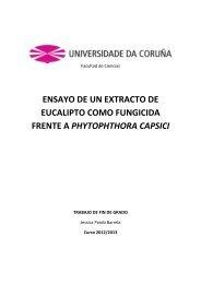 ensayo de un extracto de eucalipto como fungicida frente a ... - RUC