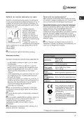 Ïäçãßåò ÷ñÞóçò - Indesit - Page 3