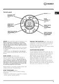 Instructions for use - Indesit - Page 5