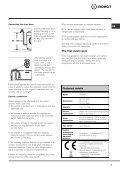 Instructions for use - Indesit - Page 3