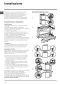 Istruzioni per l'uso - Indesit - Page 2