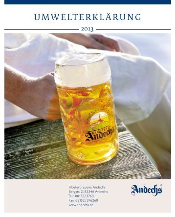 Download als pdf - Kloster Andechs