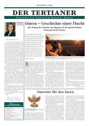 Hauspost der Tertianum Residenz Berlin - Ausgabe 1 / 2013