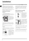 Instructions for use - Indesit - Page 2