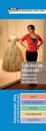 Schüler im Museum - Museum für Kunsthandwerk