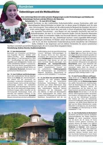 Katalogseite zum Ausdrucken - Mainka-Reisen