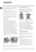 Operating Instructions - Indesit - Page 2