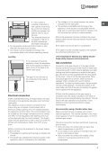 Operating Instructions - Indesit - Page 3
