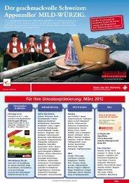 Der geschmackvolle Schweizer: Appenzeller ... - Die Idee Marketing