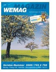 Kundenmagazin, Ausgabe 01/2009 - WEMAG AG - Homepage