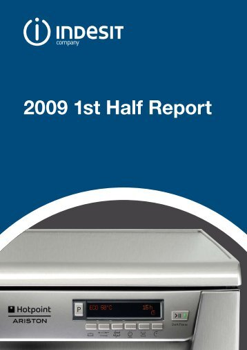 2009 1st Half Report - Indesit