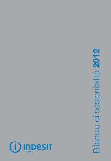 Bilancio di sostenibilità 2012 - Indesit