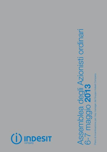 DOCUMENTO INFORMATIVO (3) - Indesit