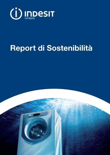 Report di Sostenibilità 2009 - Indesit