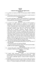 Statuto societario - Indesit