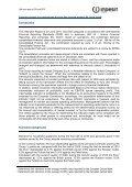 2010 1st Half Report - Indesit - Page 5