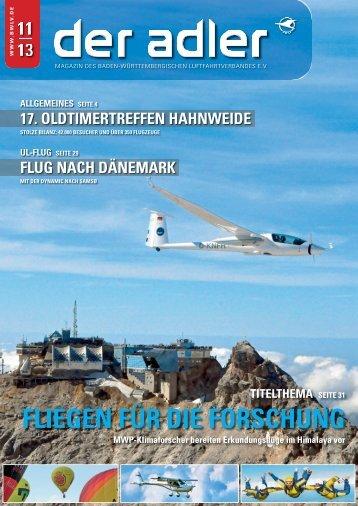 Fliegen Für die Forschung - Baden-Württembergischer ...