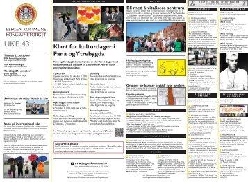 Kommunetorget 20. oktober 2013 - Bergen kommune