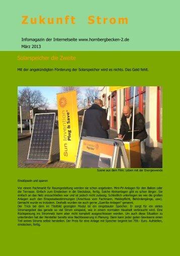März 2013 - KEIN Hornbergbecken 2