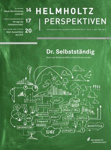 PERSPEKTIVEN - Helmholtz-Gemeinschaft