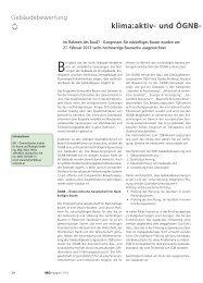 klima:aktiv- und ÖGNB- Auszeichn für inno - IBO
