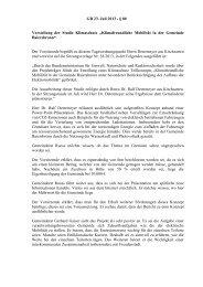 GR 23. Juli 2013 - § 80 Vorstellung der Studie Klimaschutz ...