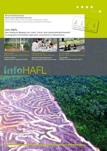Info HAFL - Berner Fachhochschule