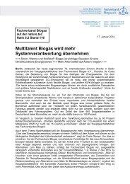 14-01-17_PM_IGW.pdf - Fachverband Biogas e.V.
