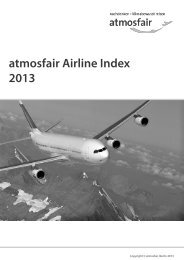 atmosfair Airline Index 2013
