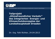 """Teilprojekt """"Klimafreundlicher Verkehr"""" des Integrierten Energie ..."""