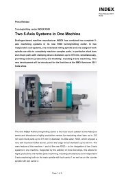 Two 5-Axis Systems in One Machine - INDEX-Werke GmbH & Co ...