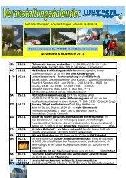 November und Dezember 2013 - Lunz am See