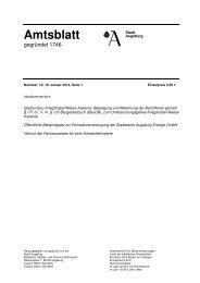 Amtsblatt Nr. 1-2/2014 - Stadt Augsburg