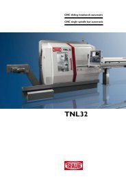 TNL32 - INDEX-Werke GmbH & Co. KG Hahn & Tessky