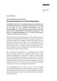 Der große Schwenk zur 5-Achs-Interpolation - INDEX-Werke GmbH ...