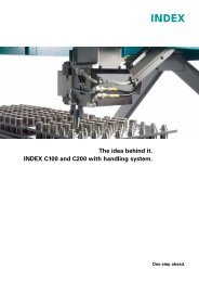 C100 and C200 with handling system - INDEX-Werke GmbH & Co ...