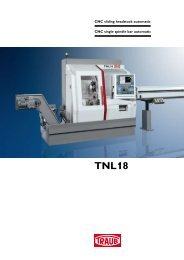 TNL18 - INDEX-Werke GmbH & Co. KG Hahn & Tessky