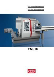 TNL18 - with B-axis - INDEX-Werke GmbH & Co. KG Hahn & Tessky
