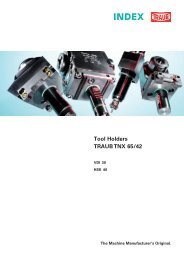 TRAUB TNX65/42 - INDEX-Werke GmbH & Co. KG Hahn & Tessky