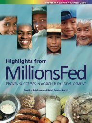 Millions Fed - India Environment Portal