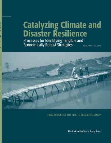 Catalyzing Climate and Disaster Resilience: Processes for Identifying